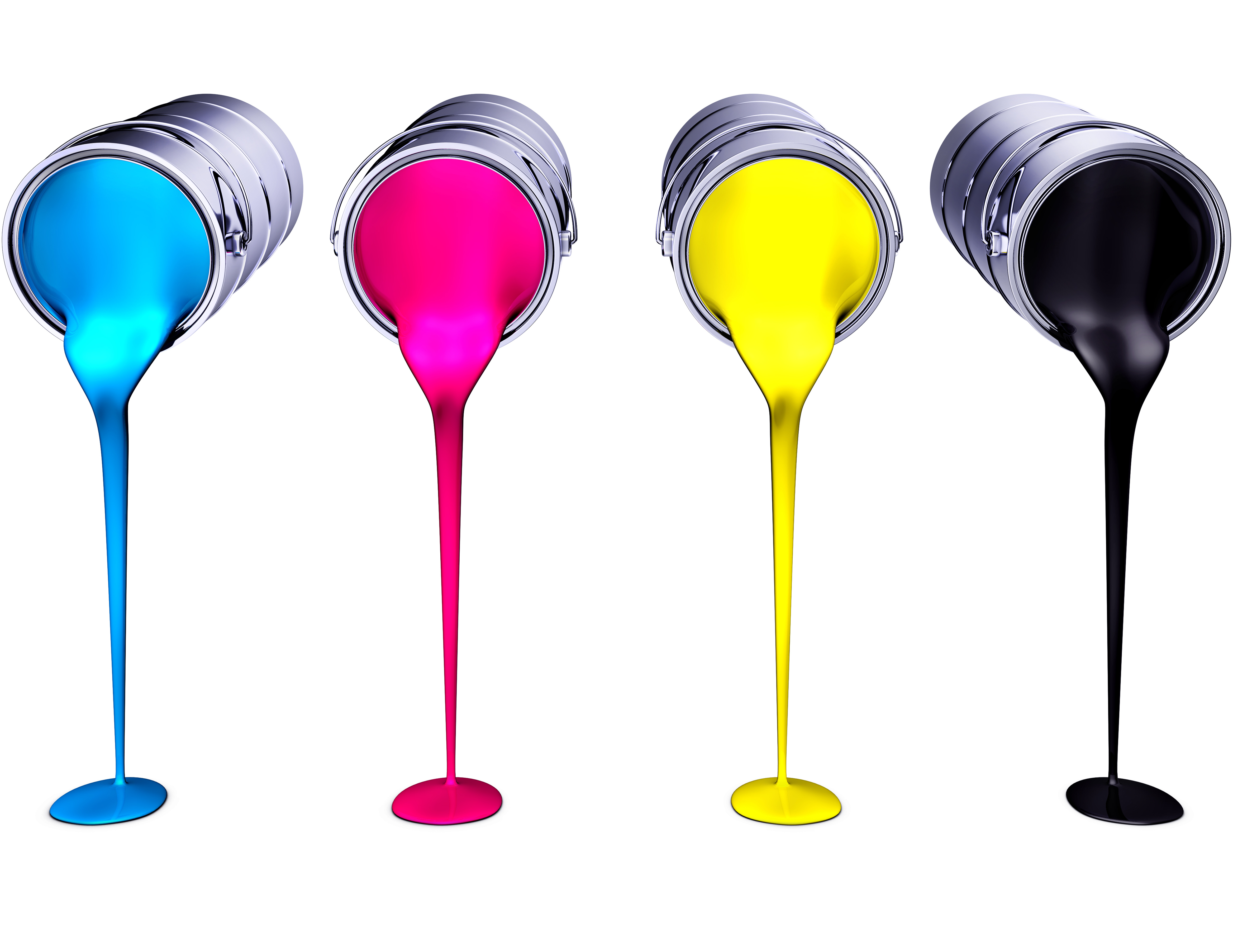 CMYK or 4-color Process Printing